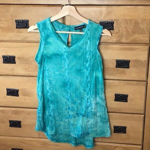 CHANCES R sequined tank.